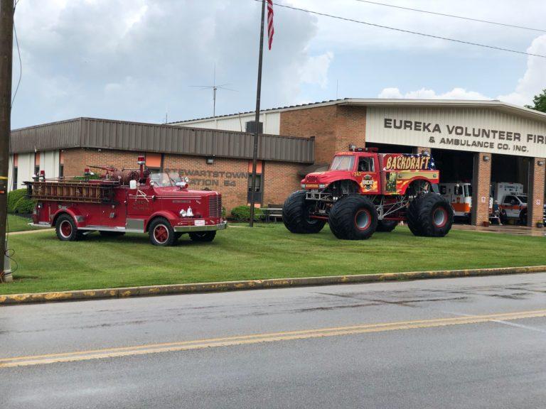 eureka fire truck and bd